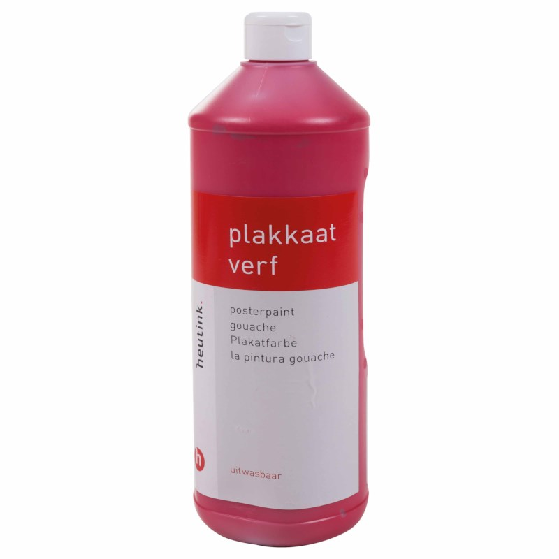 Interpaint - 1 Litre bottle - Cherry red