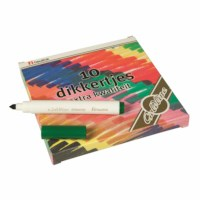 Felt tip pens - Thick Goldline - Heutink - Box of 10 colours