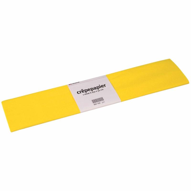 Crepe paper - Floriade - Yellow