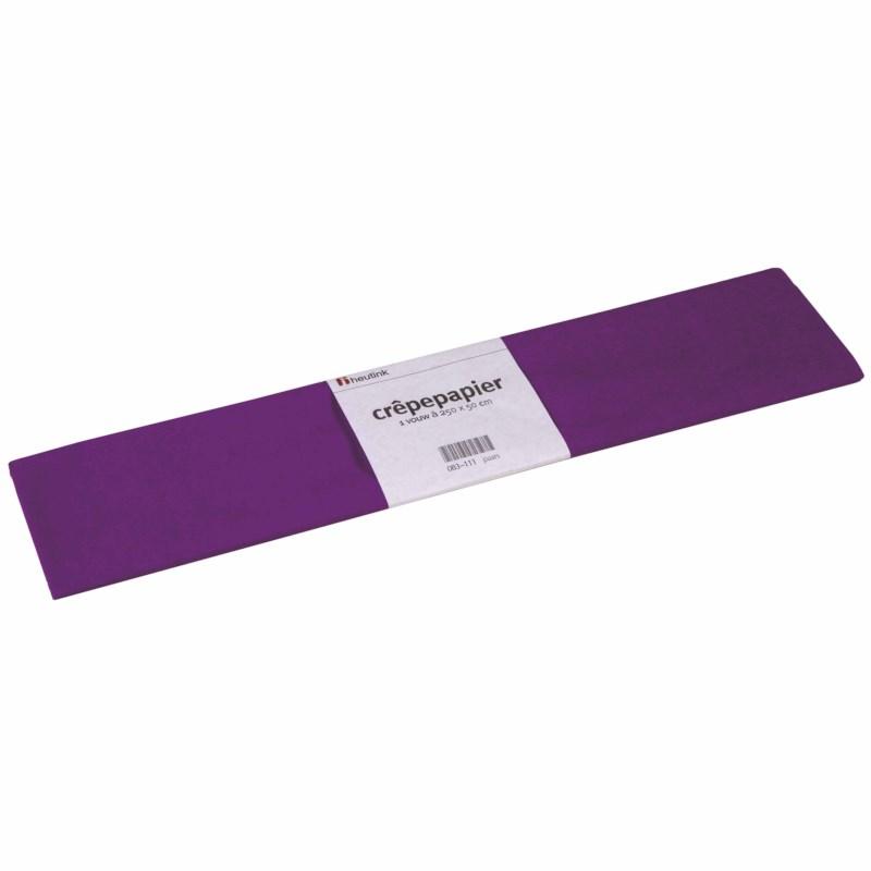 Crepe paper - Floriade - Purple
