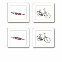 Transportation Matching Cards