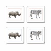 Animales Africanos trabajo de emparejar