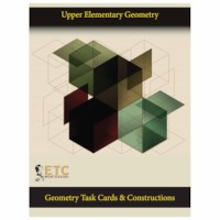 Upper Elementary Geometry - Task Cards